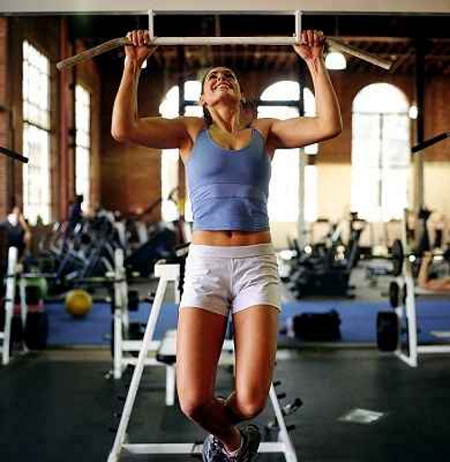 Pullup woman3