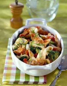 chicken breast broccoli tomato