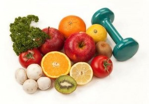 fruits veggies exercise
