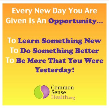 Common Sense Get Better