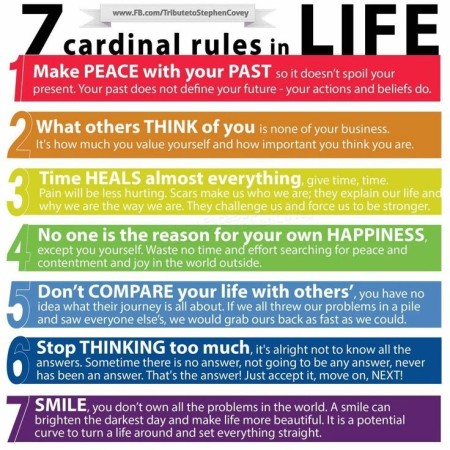7 Good Rules of Life